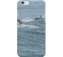 Playful Pod of Dolphins! Ballina. N.S.W. Nth. Coast. iPhone Case/Skin