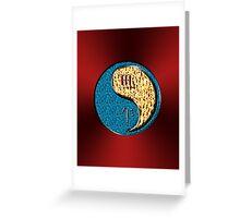 Scorpio & Horse Yang Fire Greeting Card