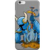 Shovel Knight: Cut-Out iPhone Case/Skin