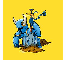 Shovel Knight: Cut-Out Photographic Print
