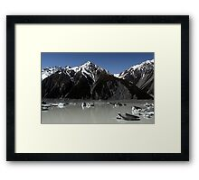 In the Hall of the Mountain King- Ice Age Framed Print