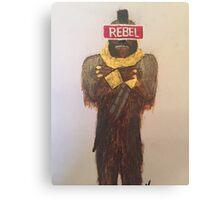 Rebel Life Canvas Print