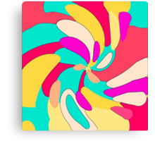 Tropical Menlancholy Canvas Print