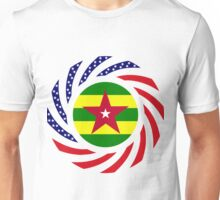 Togo American Multinational Patriot Flag Series Unisex T-Shirt