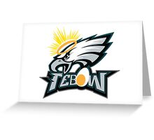 TEBOW EAGLE Greeting Card