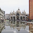 Venezia - San Marco - Reflections in S.Marco Square  by paolo1955