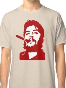 Che Guevara Cigar On Classic T-Shirt