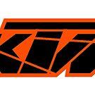 KTM Black on Orange by frenzix