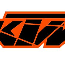 KTM Black on Orange by frenzix