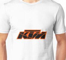 KTM Black on Orange Unisex T-Shirt