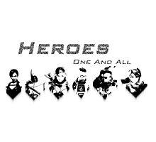 Heroes Headshots Landscape Photographic Print