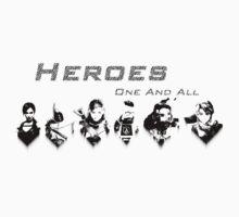 Heroes Headshots Landscape T-Shirt