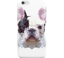 Low Poly French Bulldog iPhone Case/Skin