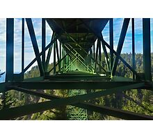 Thomas Creek Bridge, US Route 101, Curry County, Oregon, USA Photographic Print