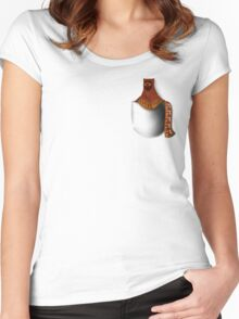 Journey: Travel Size Traveler Women's Fitted Scoop T-Shirt