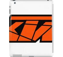 KTM - Orange on Black iPad Case/Skin