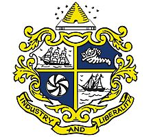 St. Catharines Coat of Arms Photographic Print