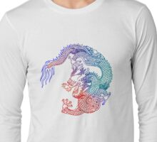 Rainbow Dragon Long Sleeve T-Shirt
