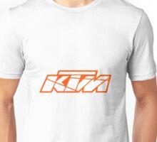 KTM - White on Orange Unisex T-Shirt