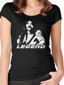 stencil Bob Seger Legend Women's Fitted Scoop T-Shirt