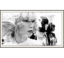 WOW blonde Photographic Print