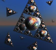 """'Pyramids and Sphere's """" by debsphotos"""