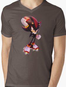 Shadow the Hedgehog Mens V-Neck T-Shirt