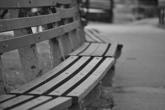 Park Bench by AcePhotography