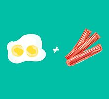 Eggs and Bacon by Bernadeta