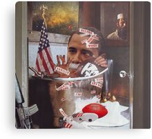"""Obama....Revolutionaries.....and the Ghosts of Taliban""...... Metal Print"