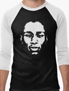 stencil Mos Def Yasiin Bey Men's Baseball ¾ T-Shirt
