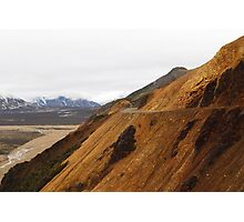 The Road Ahead - Denali National Park Photographic Print