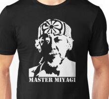 stencil Mr Miyagi Karate Kid Unisex T-Shirt