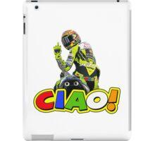 rossi ciao finger iPad Case/Skin