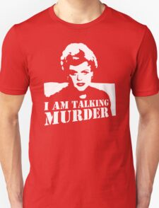 stencil Murder She Wrote Deadly Lady T-Shirt