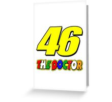 vr46doctor Greeting Card
