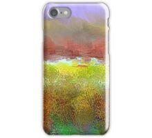 Colorful Landscape Design iPhone Case/Skin
