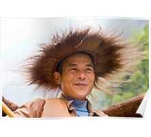 Crazy Hatted Captain Poster