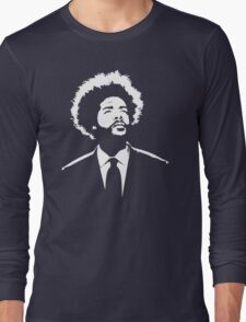 stencil Questlove The Roots Long Sleeve T-Shirt