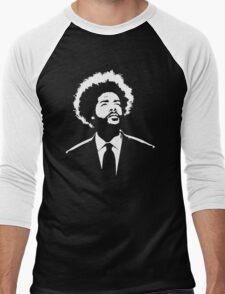 stencil Questlove The Roots Men's Baseball ¾ T-Shirt