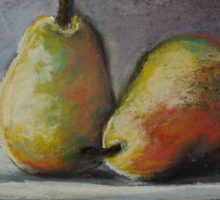 A Pair of Pears Sticker