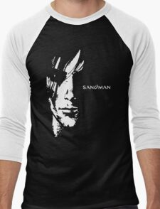 stencil Sandman Men's Baseball ¾ T-Shirt
