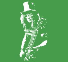 stencil Slash Guns N Roses Rock Band Baby Tee
