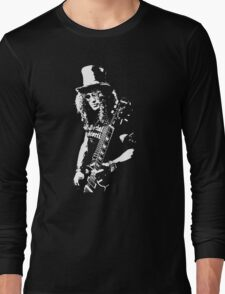 stencil Slash Guns N Roses Rock Band Long Sleeve T-Shirt