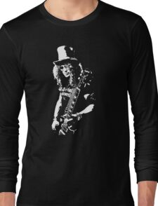 stencil Slash Guns N Roses Rock Band Long Sleeve T-Shirt