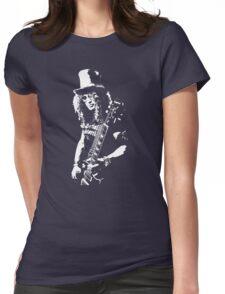 stencil Slash Guns N Roses Rock Band Womens Fitted T-Shirt