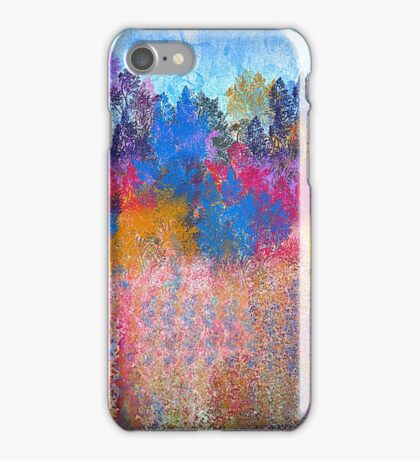 Colorful Trees and Landscape iPhone Case/Skin
