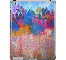 Colorful Trees and Landscape iPad Case/Skin