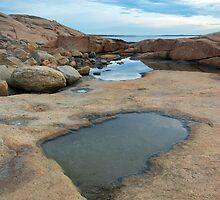Hazard Rocks Mirror by Andrew Stockwell