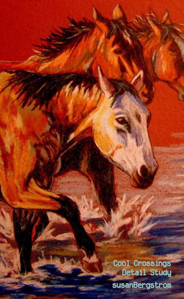Cool Crossings- Detail Study by Susan Bergstrom